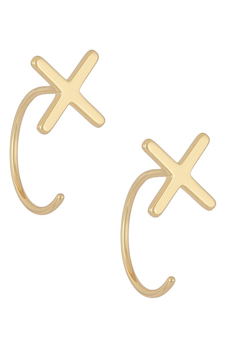 UNCOMMON JAMES BY KRISTIN CAVALLARI Ear Jackets, Main, color, GOLD