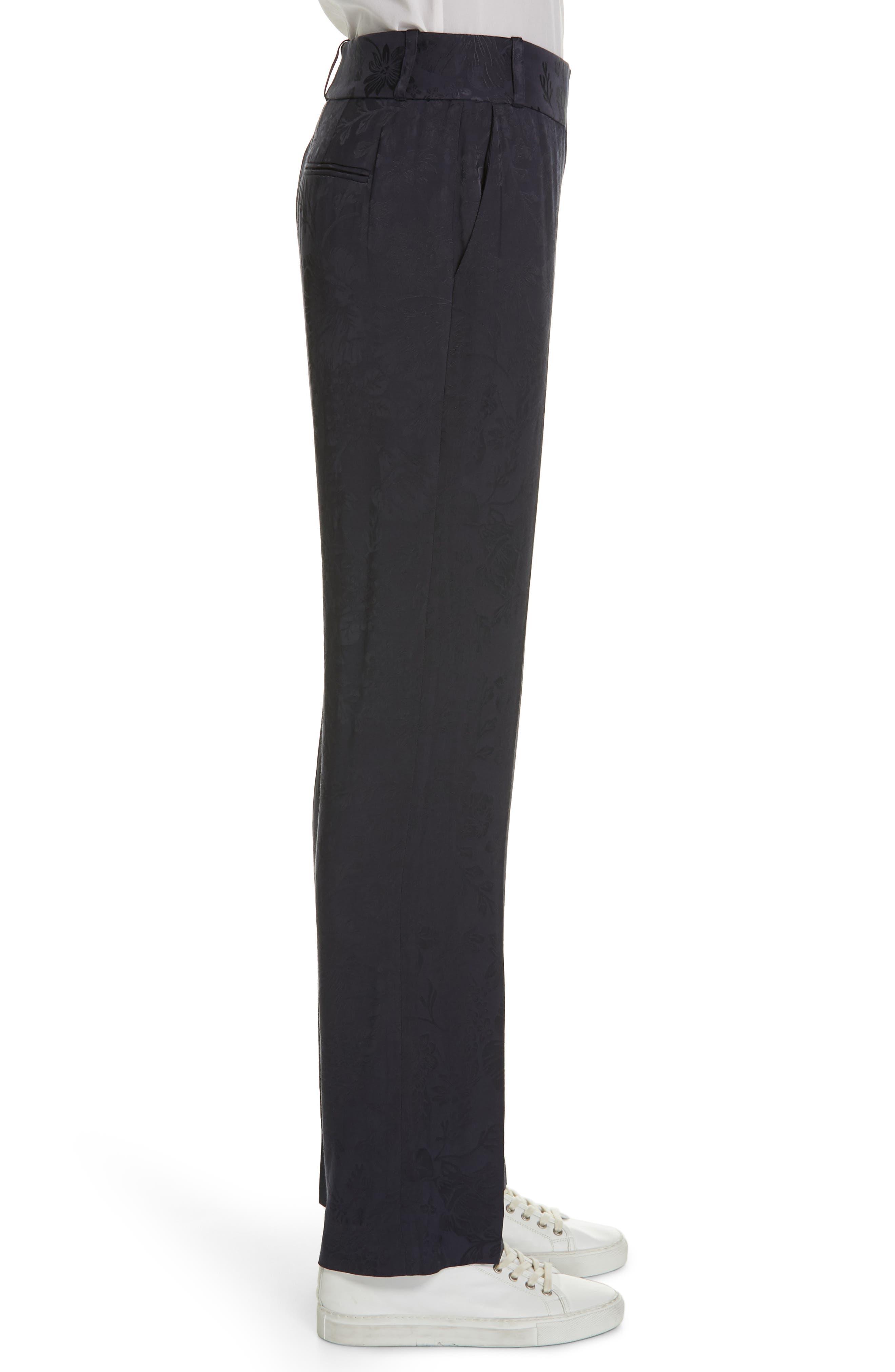 ,                             Lita Jacquard Trousers,                             Alternate thumbnail 4, color,                             400