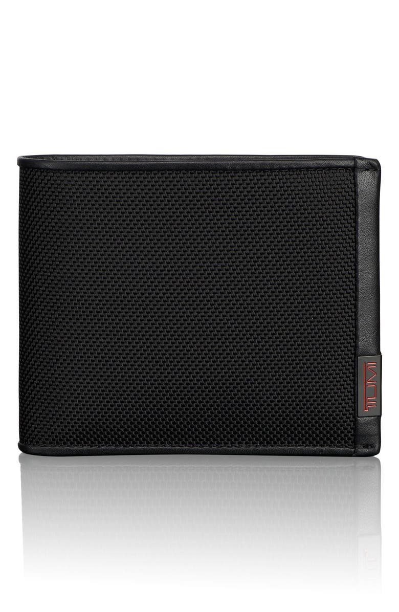 TUMI Alpha Global - ID Lock<sup>™</sup> Wallet with Removable Passcase, Main, color, BLACK