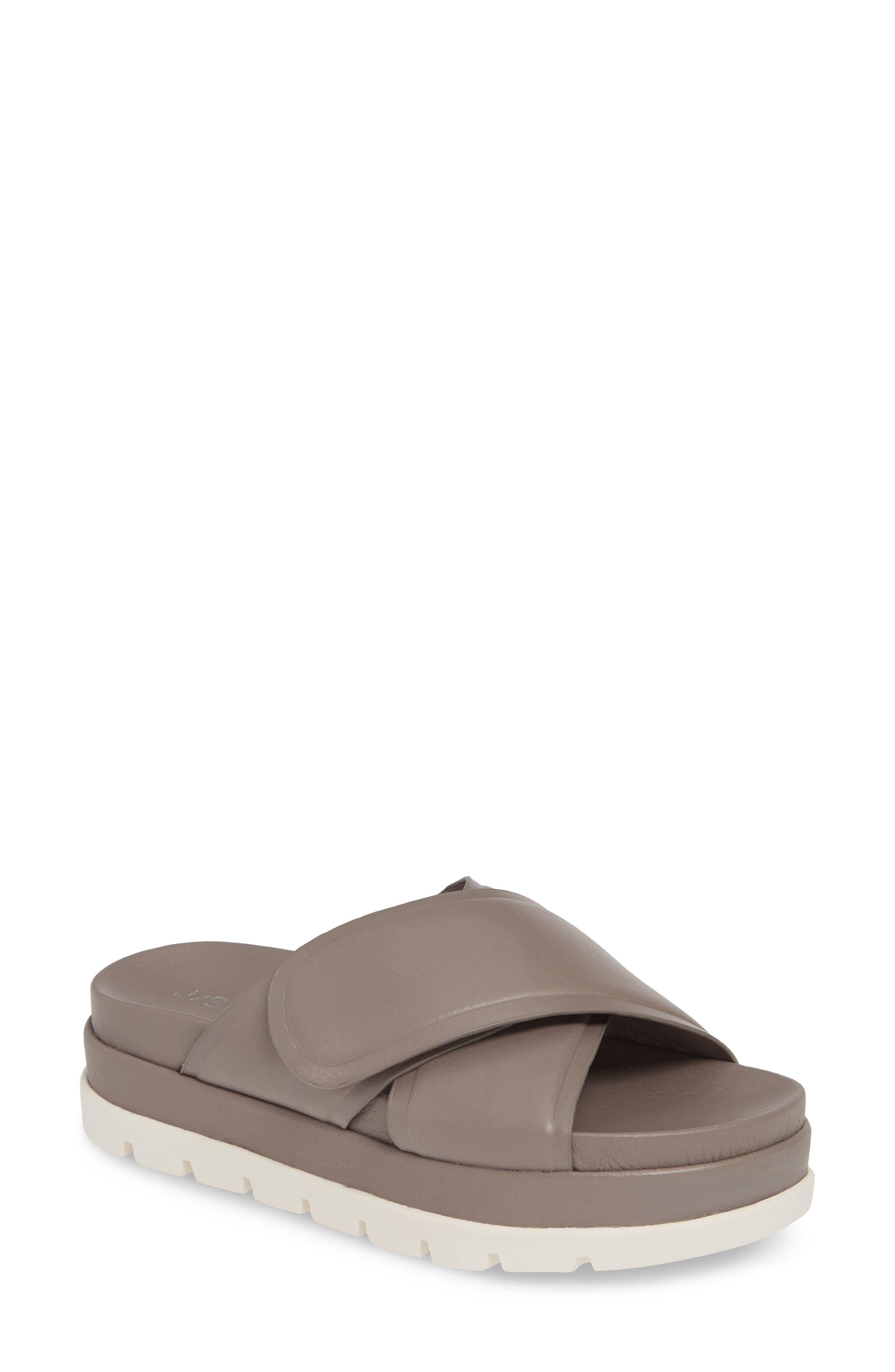 Jslides Bella Platform Slide Sandal
