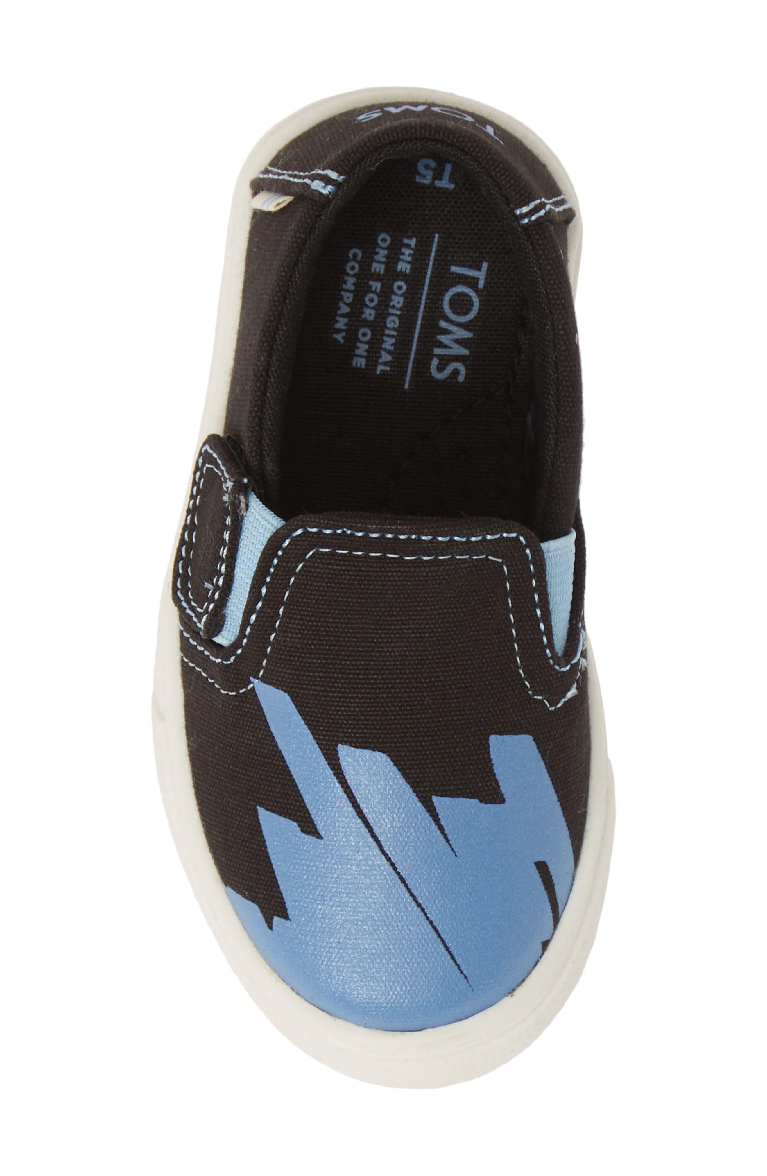 ,                             Luca Slip-On Sneaker,                             Alternate thumbnail 5, color,                             BLACK