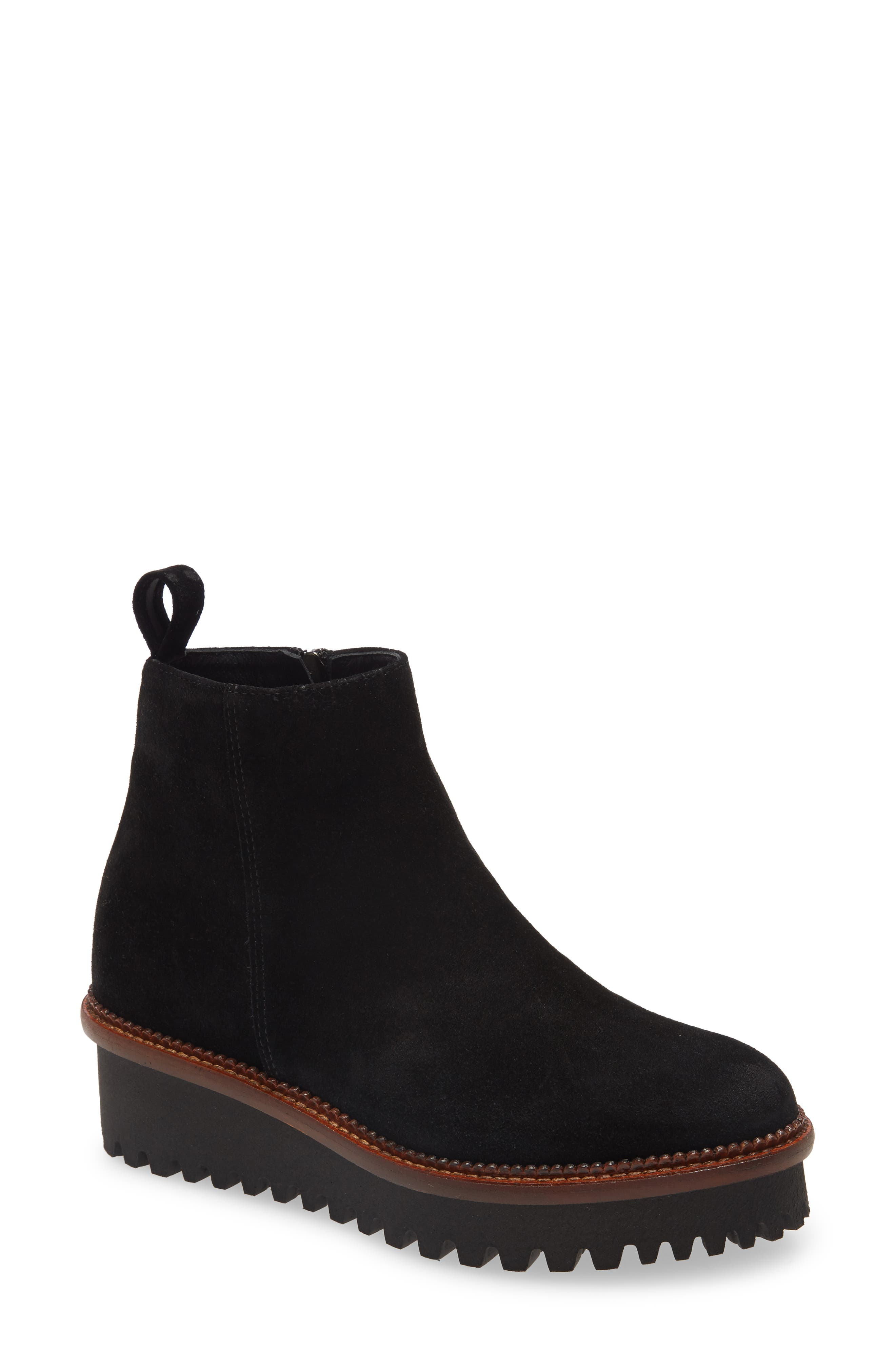 Ashford Leather Bootie