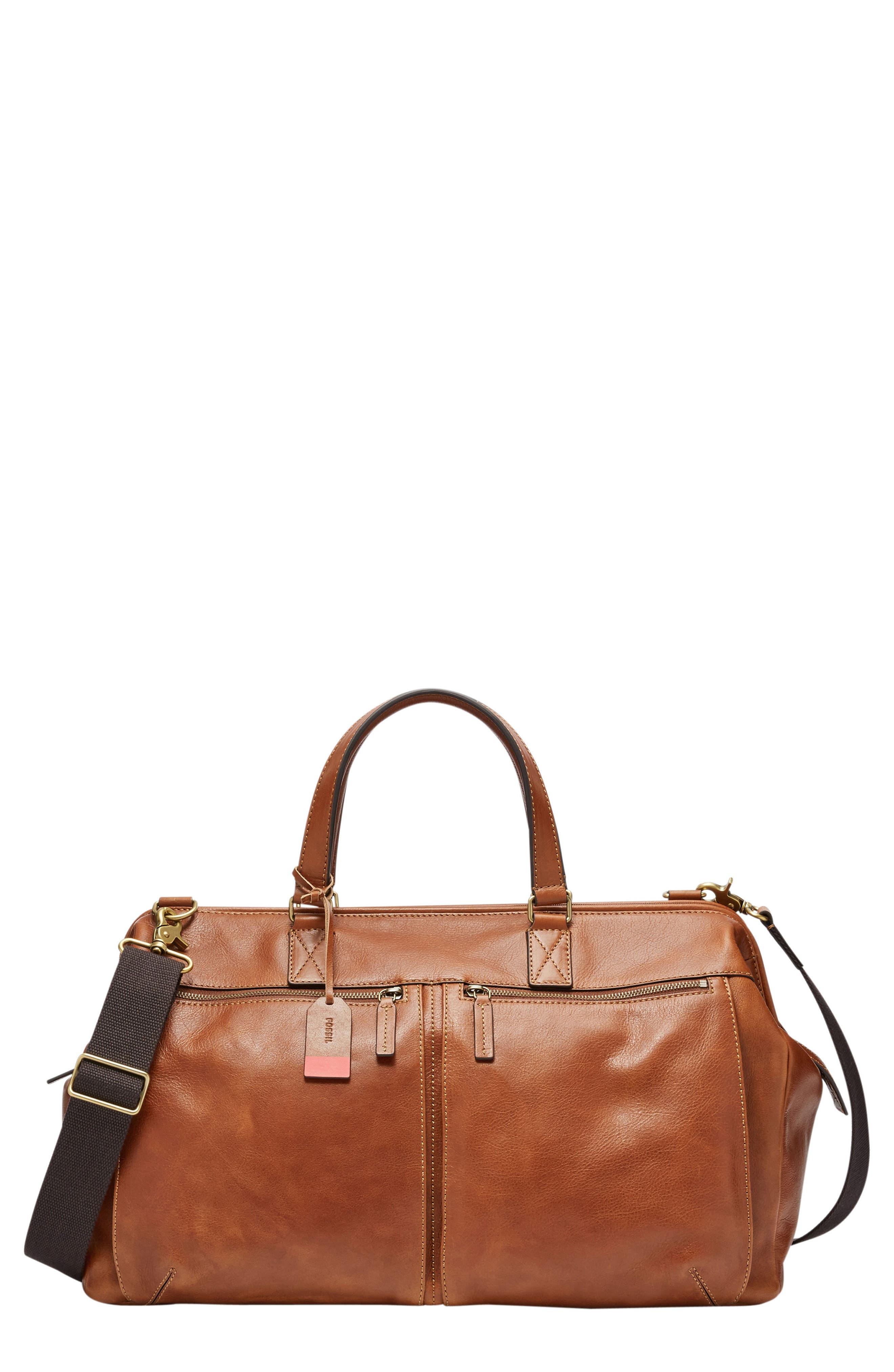 Defender Leather Duffle Bag