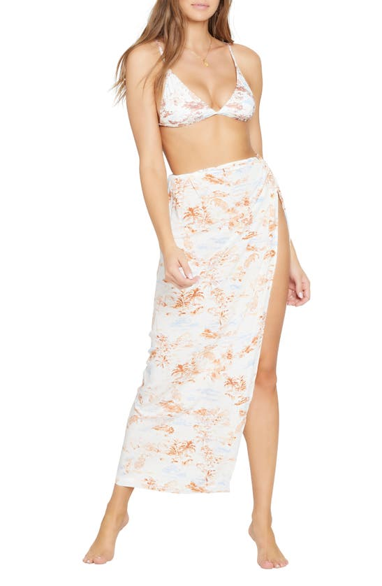 L*SPACE Skirts MIA COVER-UP SKIRT