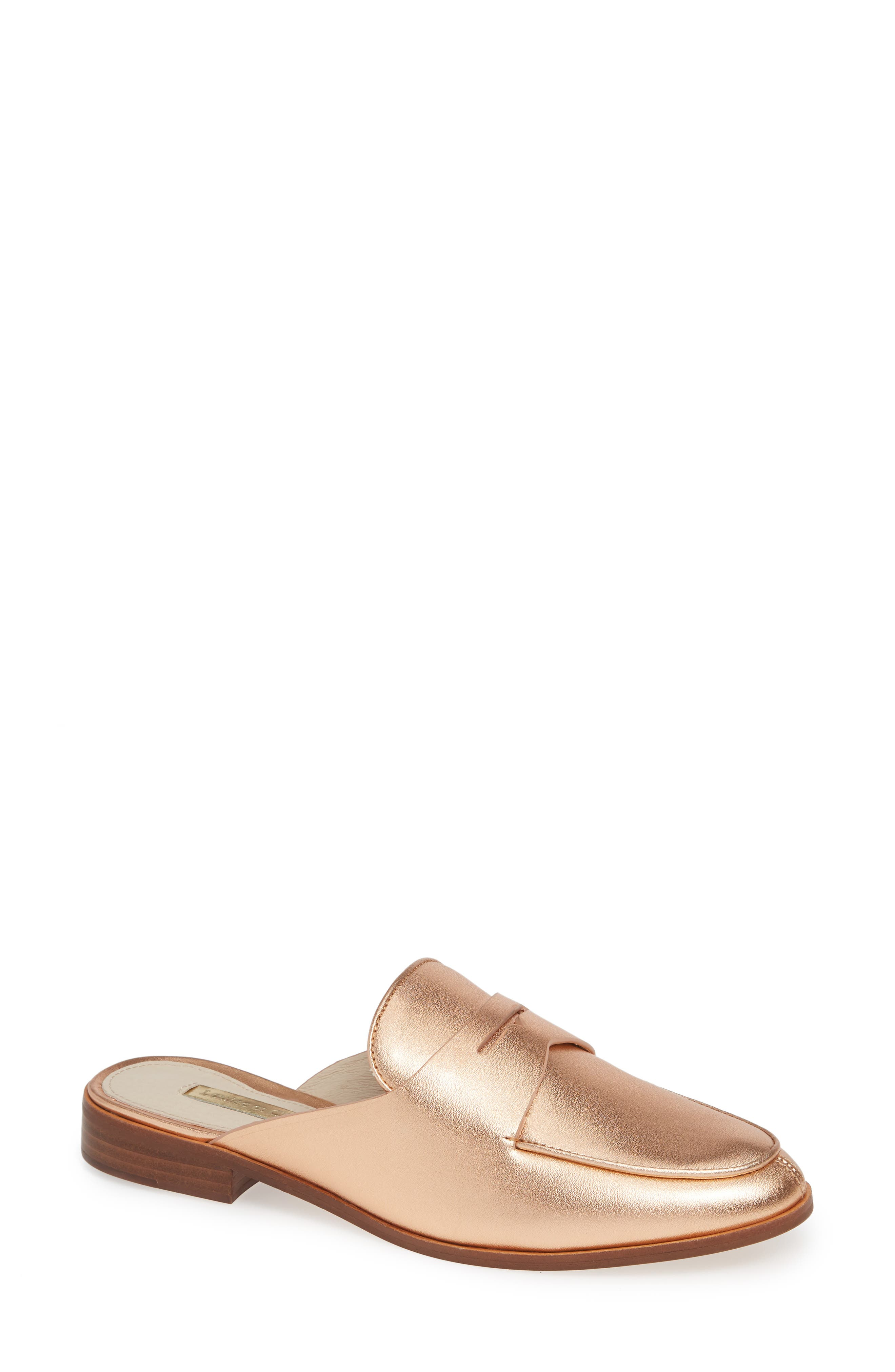 Image of Louise et Cie Dugan Flat Loafer Mule