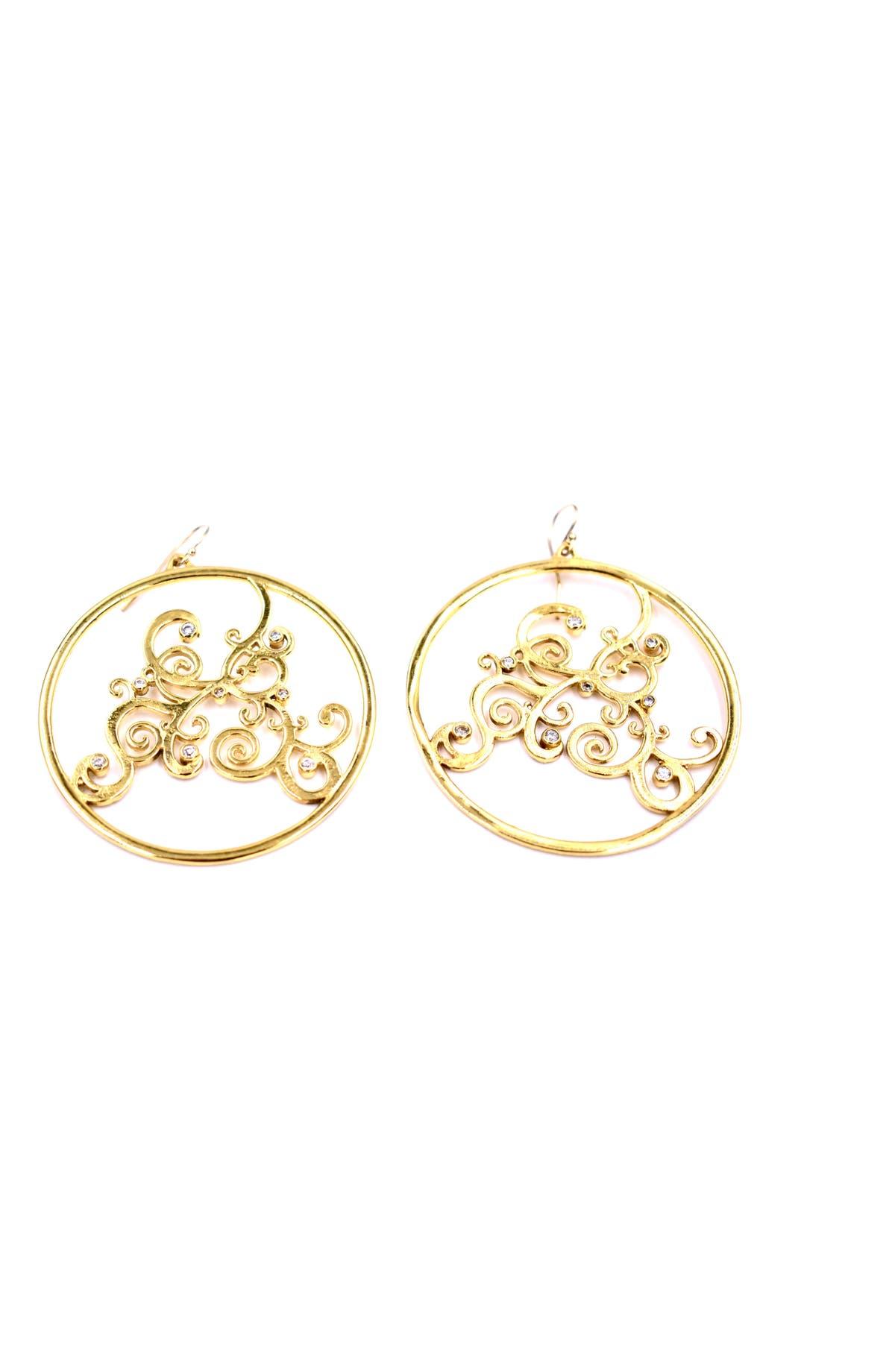 5837a4276 Lux Divine Harlow Hoop Earrings | Nordstrom