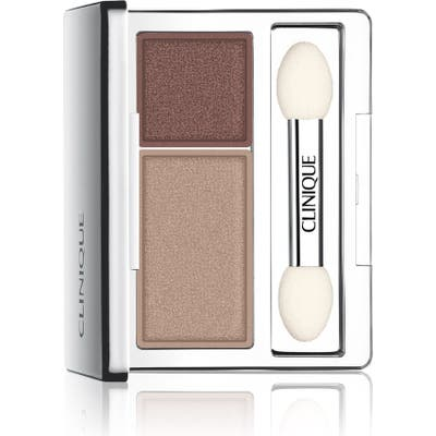 Clinique All About Shadow Eyeshadow Duo - Ivory Bisque/ Bronze Satin