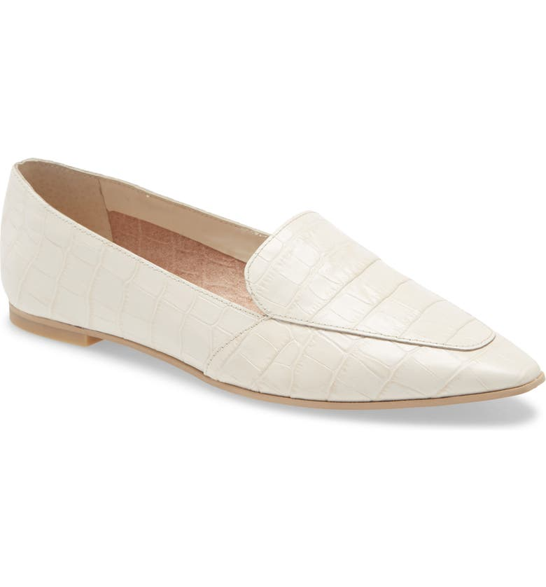 DOLCE VITA Armin Loafer, Main, color, IVORY CROCO LEATHER