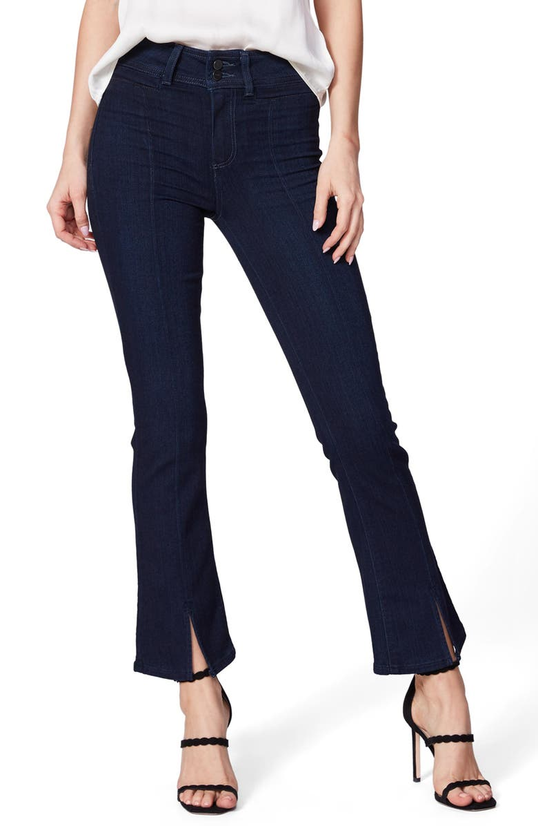 PAIGE Claudine High Waist Ankle Flare Jeans, Main, color, NATALIA