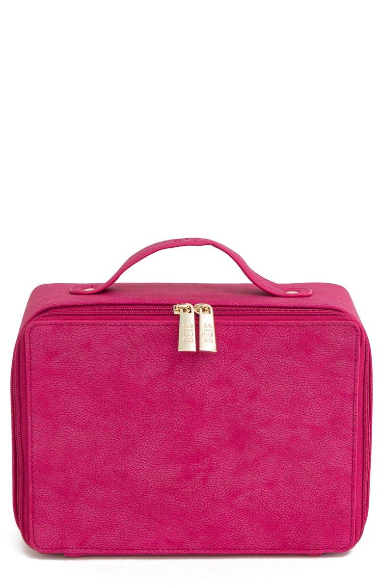 BÉIS Travel Cosmetics Case, Main, color, 657