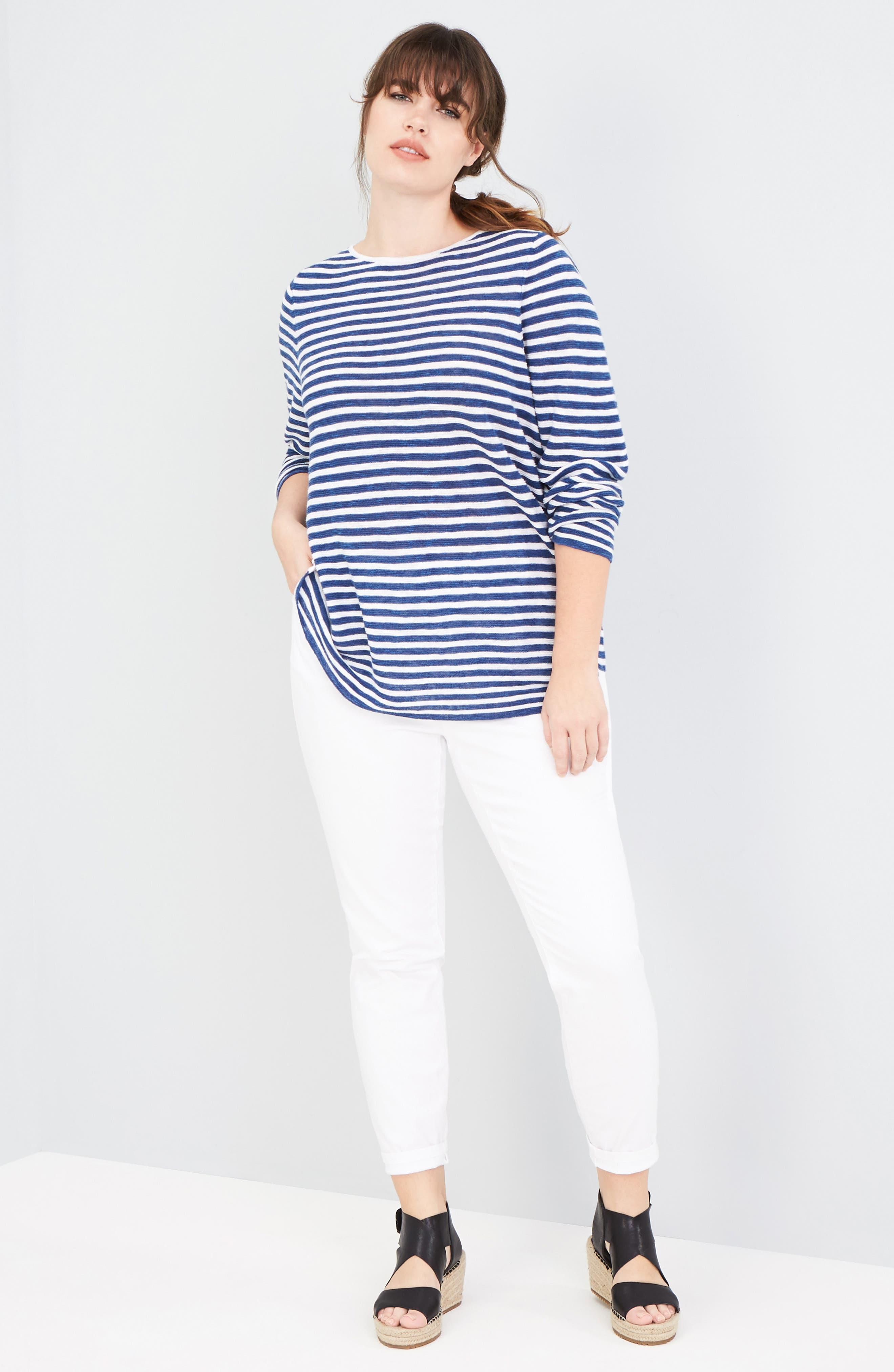 ,                             Stretch Organic Cotton Skinny Jeans,                             Alternate thumbnail 2, color,                             WHITE