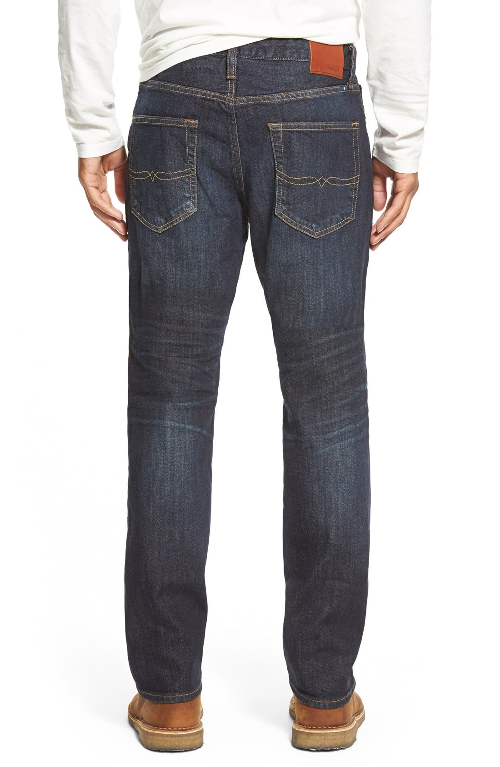 7e283d6f Lucky Brand '410 Athletic' Slim Straight Leg Jeans (Barite) | Nordstrom