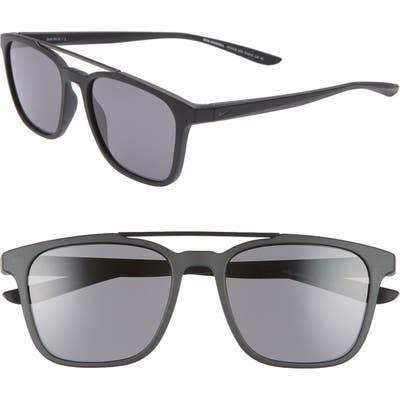 Nike Windfall 5m Square Sunglasses - Matte Black/ Dark Grey