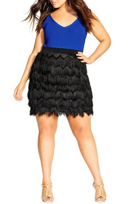 Image of City Chic Ra Cha Cha Skirt