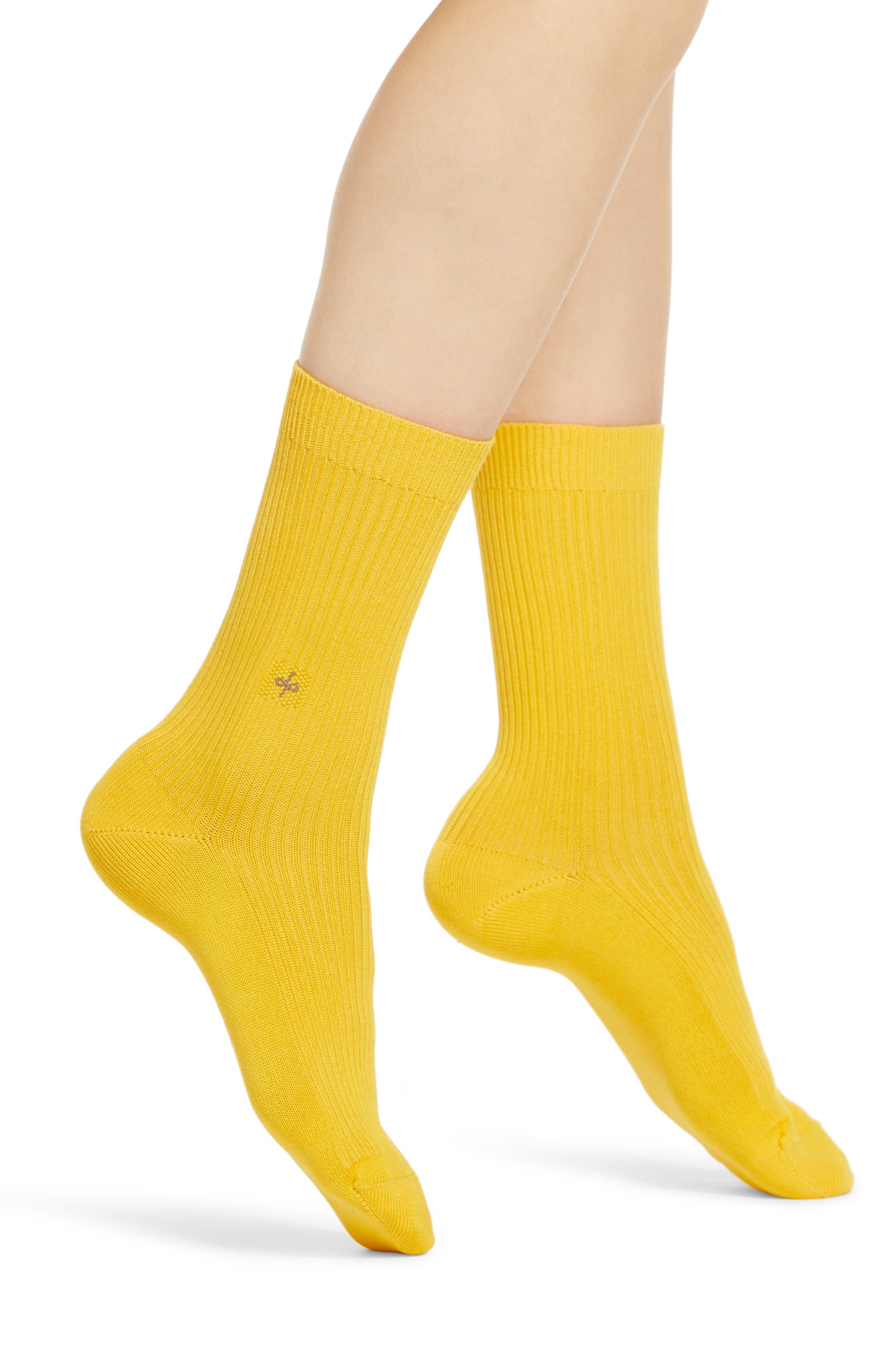Image of DUEPLE Rib Crew Socks