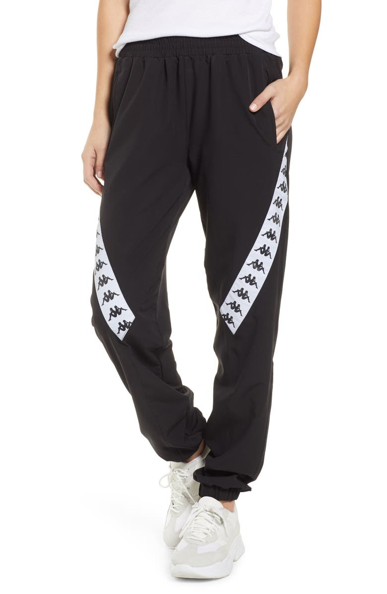 KAPPA Logo Tape Joggers, Main, color, 001