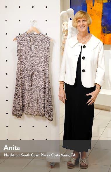 Clari Kara Leopard Print Sleeveless Dress, sales video thumbnail