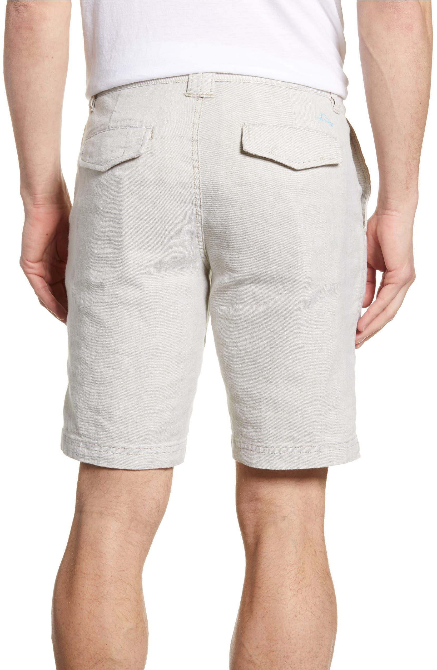 b0c70d23e2 Tommy Bahama Beach Flat Front Linen Blend Shorts | Nordstrom
