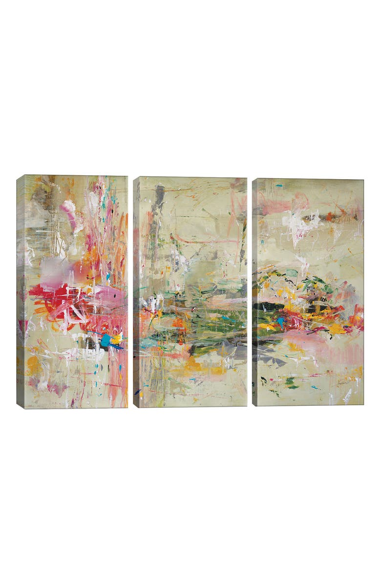 ICANVAS Fast Track by Julian Spencer Giclée Print Canvas Art, Main, color, GREEN