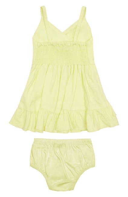 Image of Habitual Kids Ruffle Faux Wrap Dress