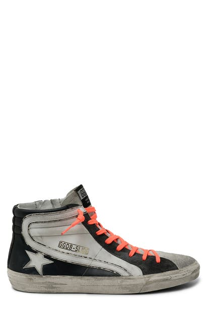 GOLDEN GOOSE SLIDE HIGH TOP SNEAKER
