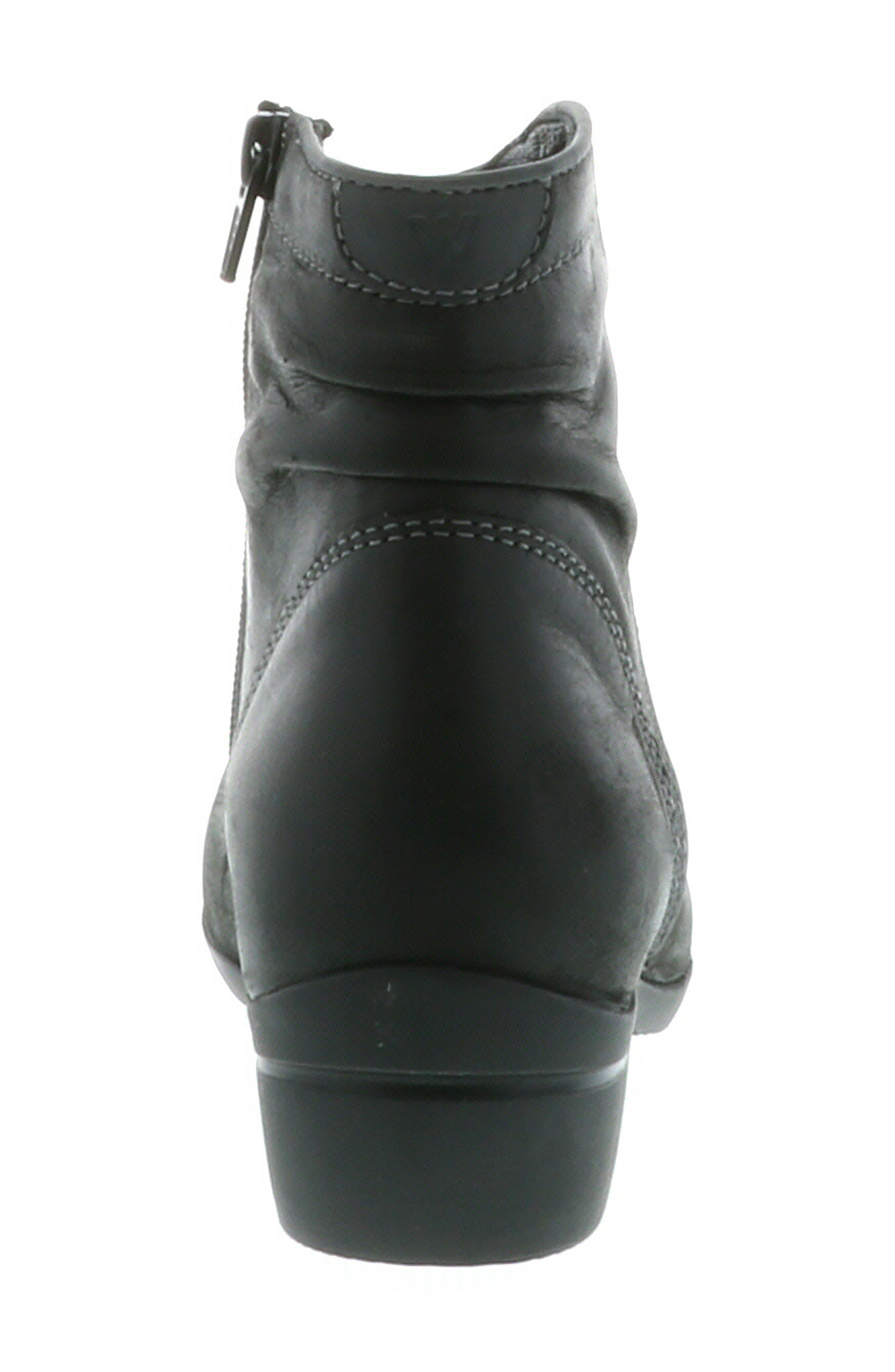 ,                             Winchester Bootie,                             Alternate thumbnail 7, color,                             BLACK/ BLACK LEATHER