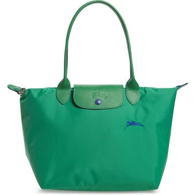 Longchamp Le Pliage Club Small Shoulder Tote - Green