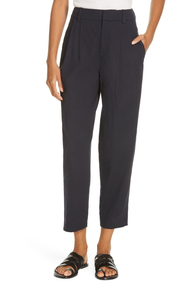 VINCE Tapered Cropped Pants, Main, color, 403