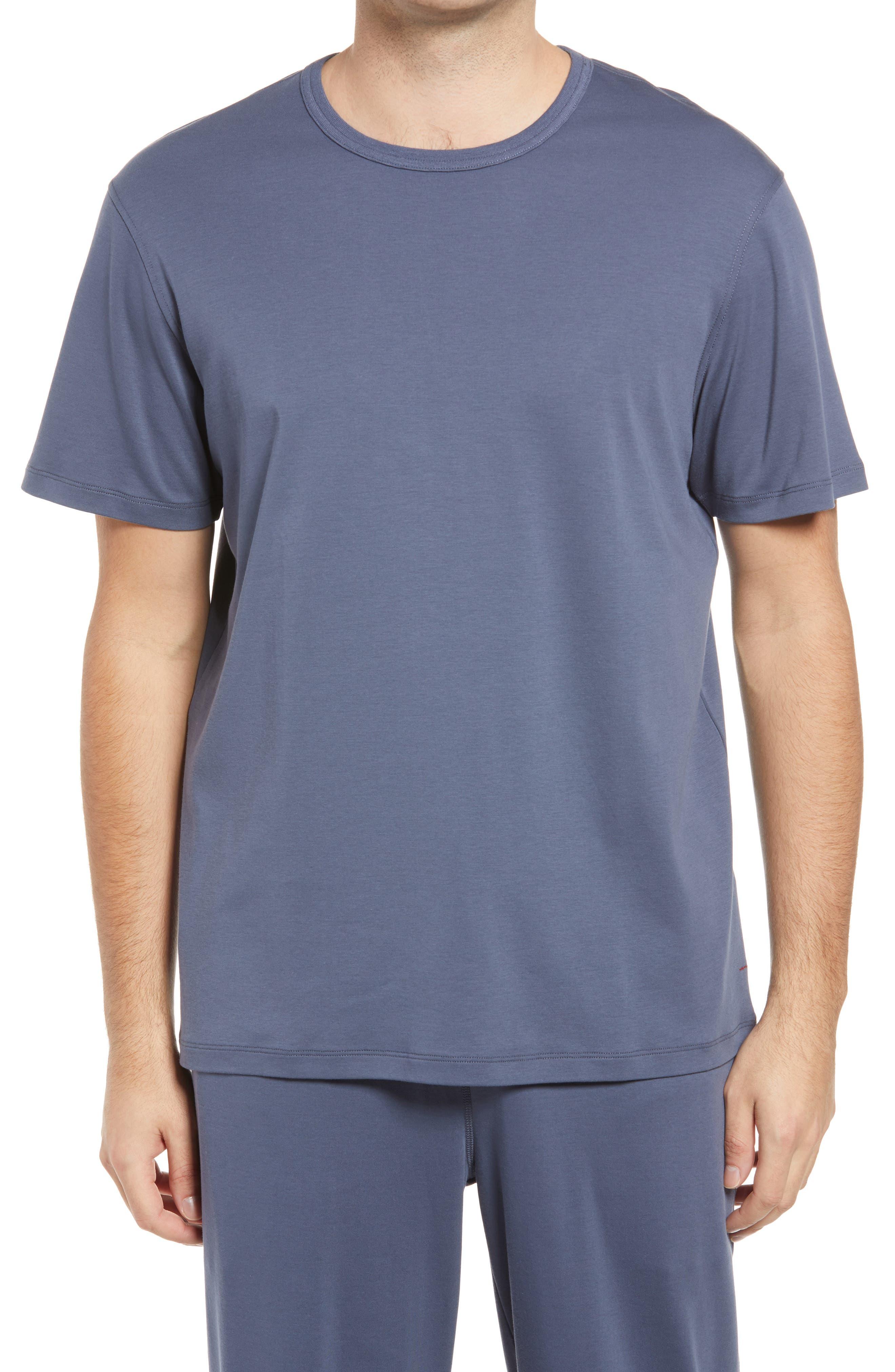 Men's Cotton & Silk T-Shirt