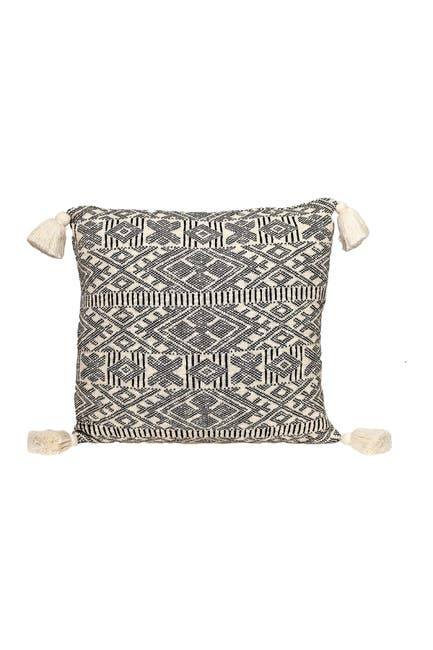 Image of Parkland Collection Toby Transitional Beige/Cream Throw Pillow