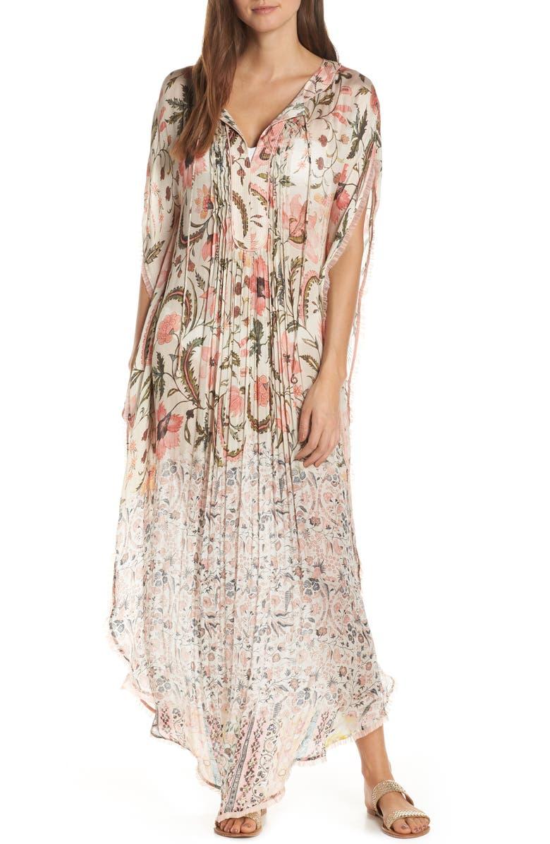 HEMANT & NANDITA Cover-Up Maxi Dress, Main, color, 950