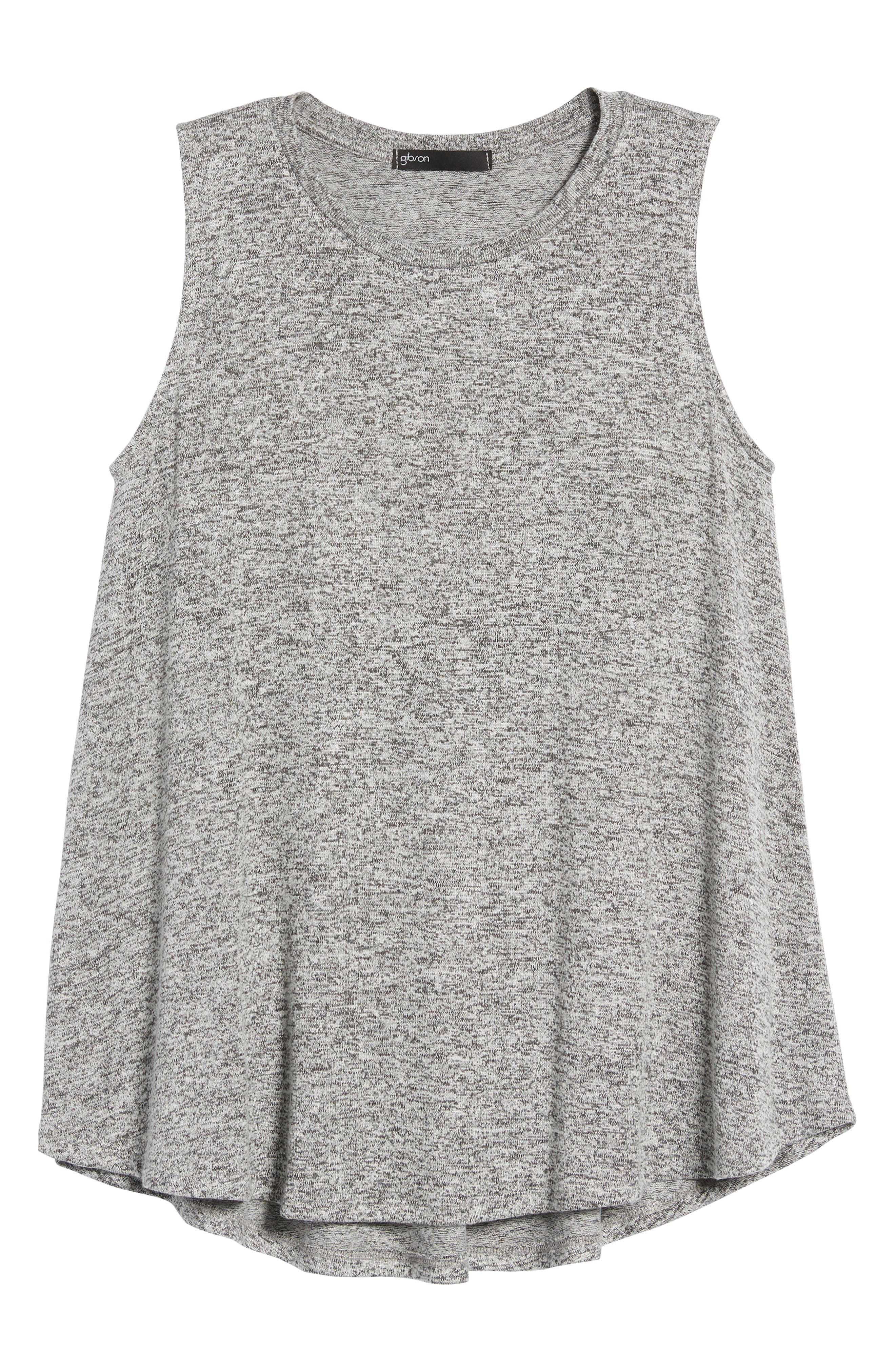 ,                             x Living in Yellow Millie Cozy Muscle Tank,                             Alternate thumbnail 7, color,                             HEATHER GREY