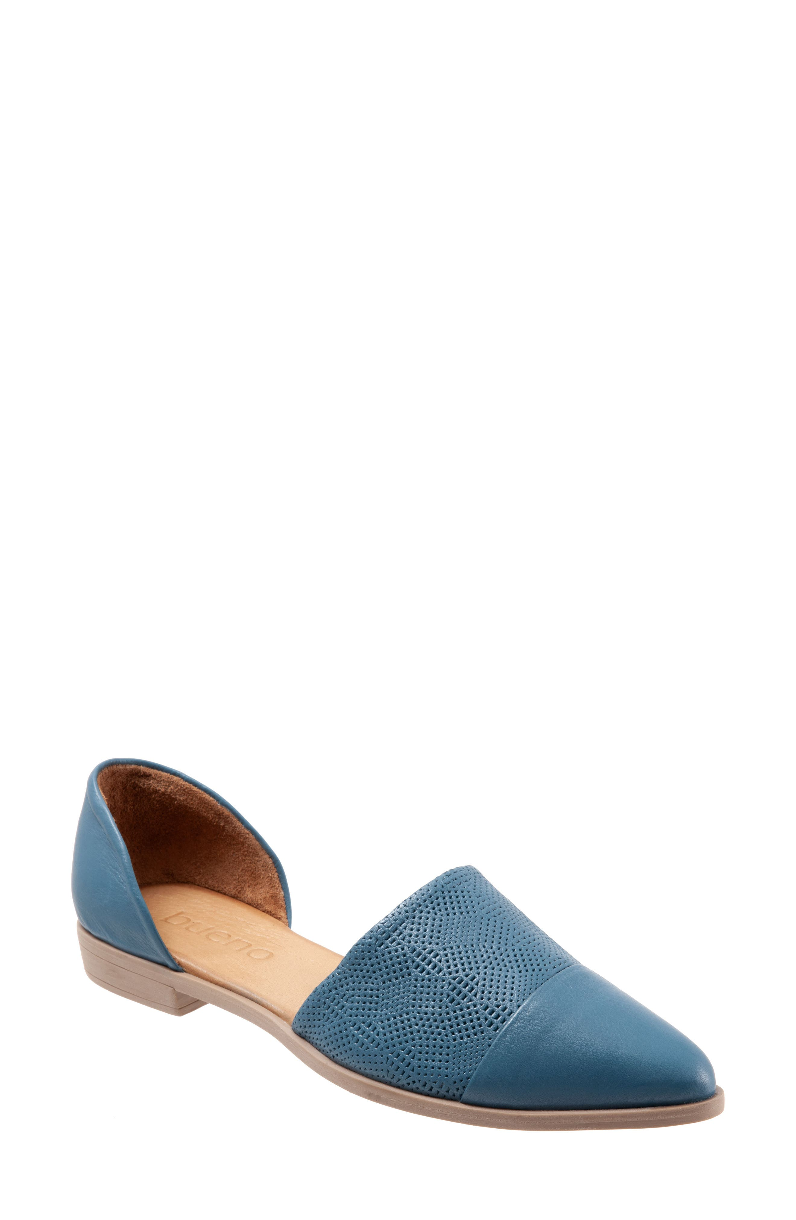 A classic d\\\'Orsay silhouette distinguishes a chic pointy-toe flat with a cushy footbed for endless, daylong comfort. Style Name: Bueno Bella D\\\'Orsay Flat (Women). Style Number: 5778823 2. Available in stores.