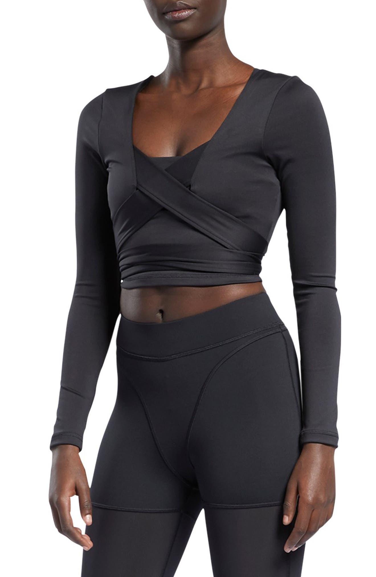 Women's Reebok X Cardi B Long Sleeve Crop Top