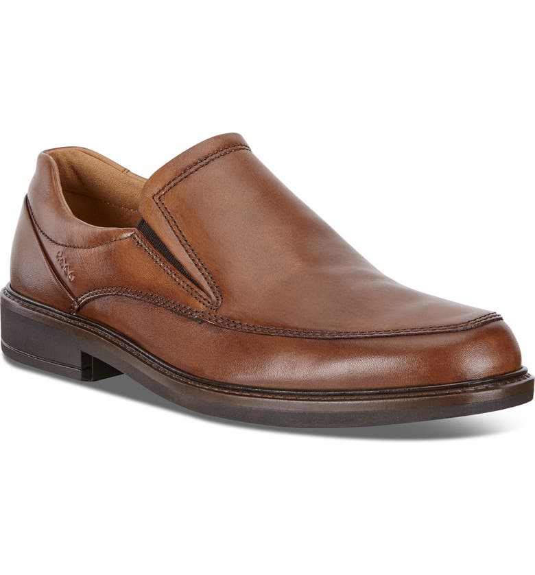 ECCO Holton Slip-On, Main, color, AMBER LEATHER