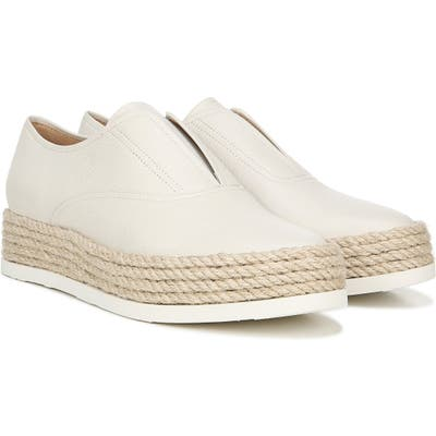 Via Spiga Berta Slip-On Sneaker, White