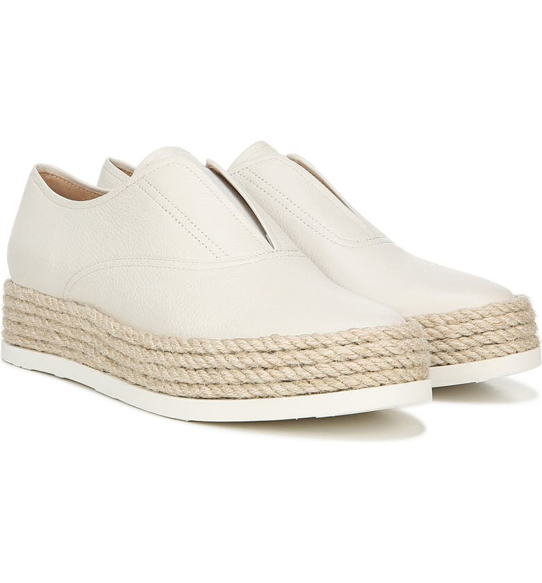 VIA SPIGA Berta Slip-On Sneaker, Main, color, MILK LEATHER