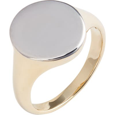 Bony Levy 14K Gold Signet Ring (Nordstrom Exclusive)
