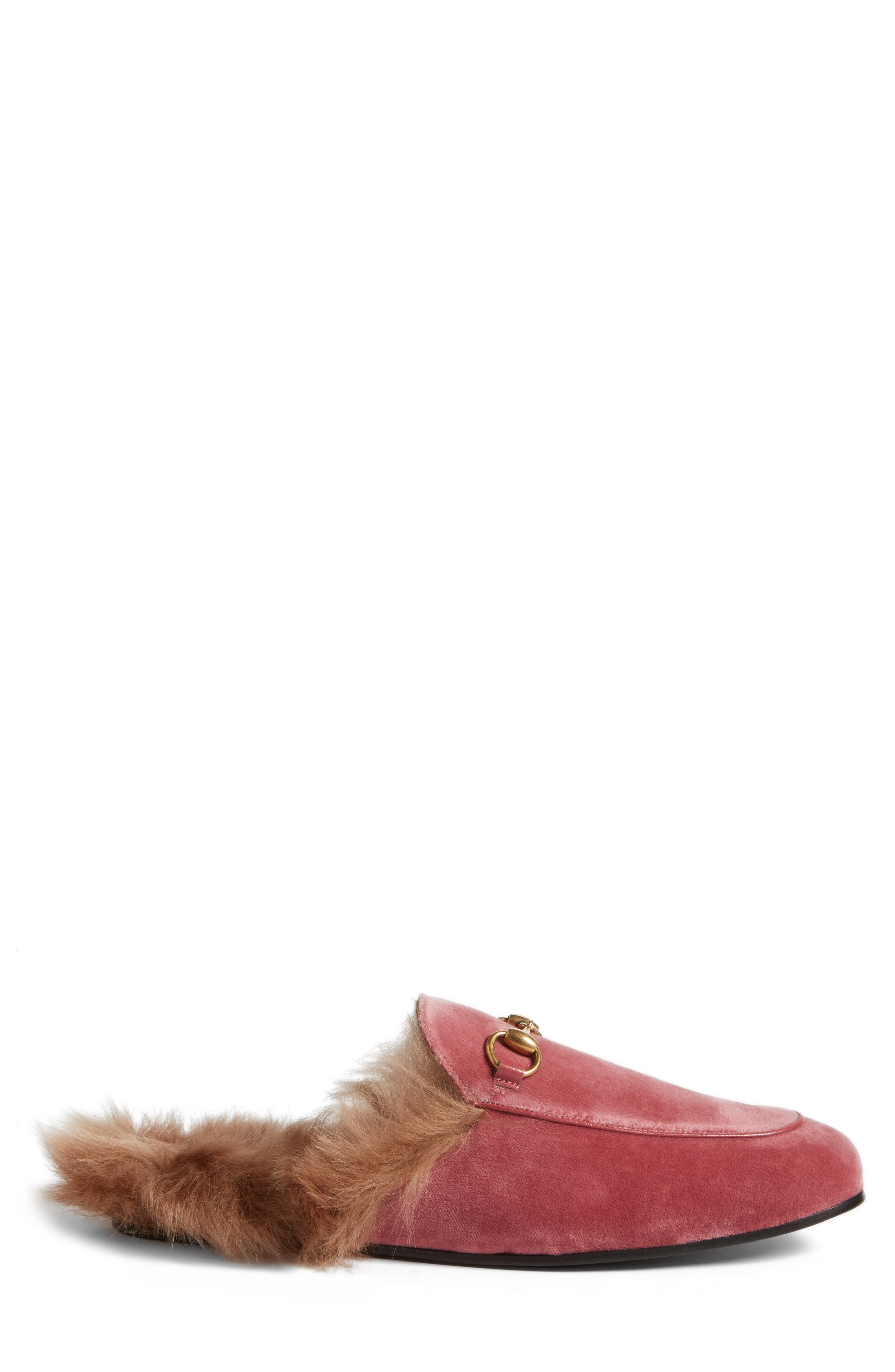 ,                             Princetown Genuine Shearling Lined Mule Loafer,                             Alternate thumbnail 67, color,                             659