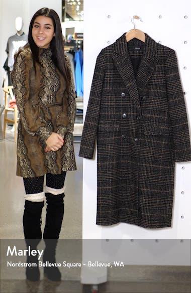 Highland Plaid Long Jacket, sales video thumbnail