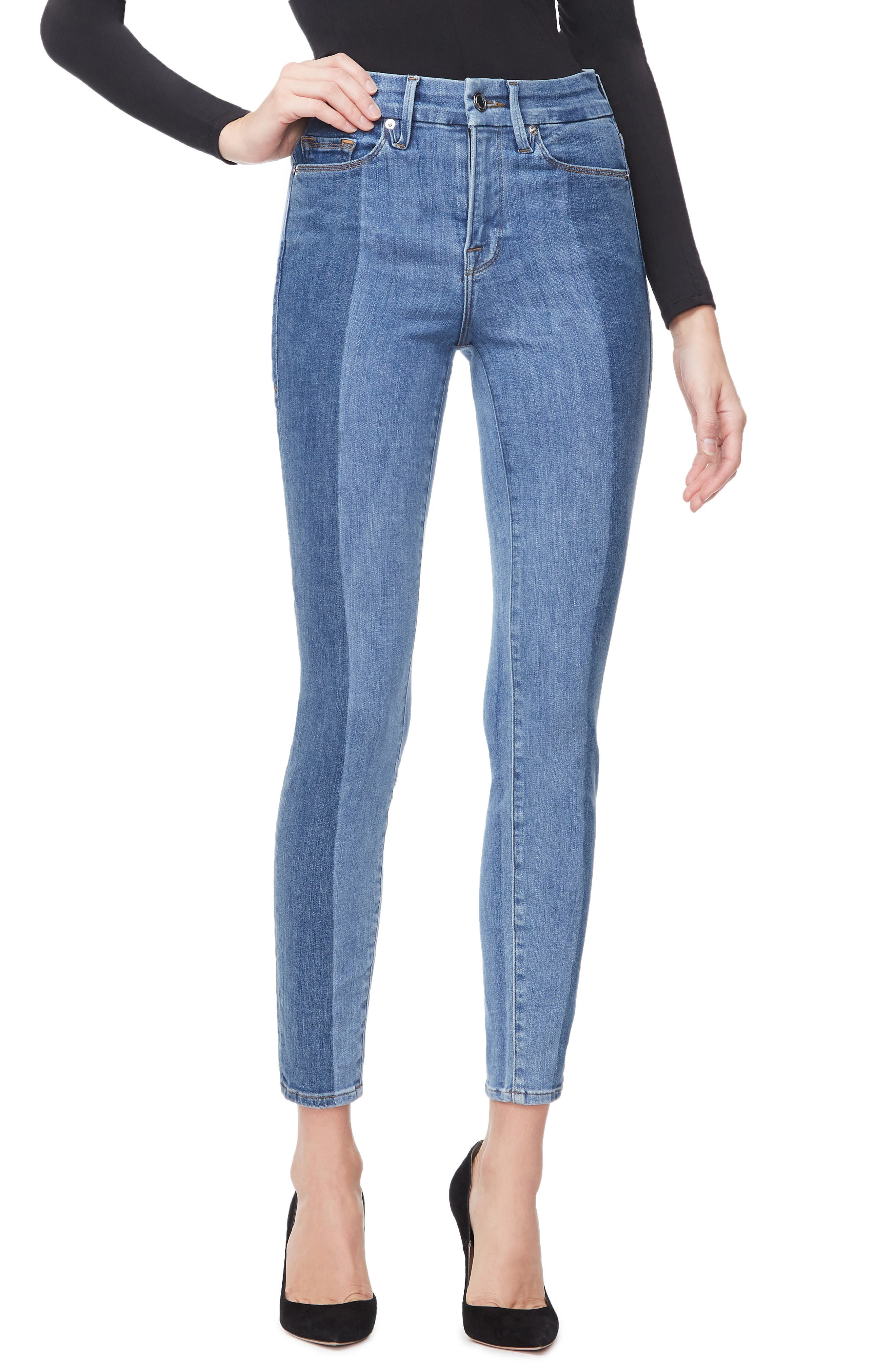 ,                             Good Legs Ankle Skinny Jeans,                             Main thumbnail 15, color,                             403