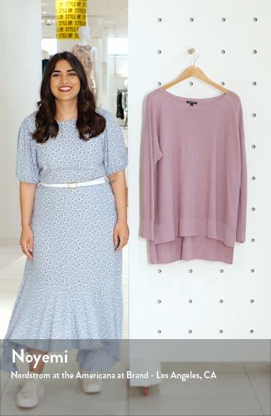 Bateau Neck Organic Linen Blend Sweater, sales video thumbnail