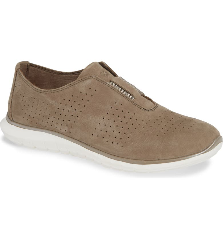 HUSH PUPPIES<SUP>®</SUP> Tricia Perforated Slip-On Sneaker, Main, color, 254