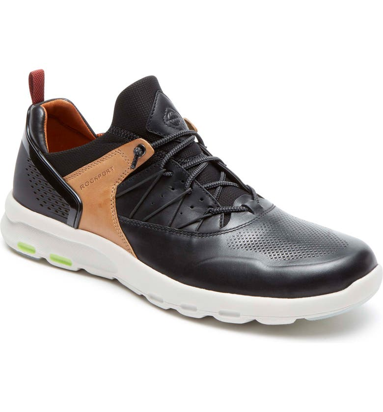 ROCKPORT Let's Walk<sup>®</sup> Sneaker, Main, color, 001
