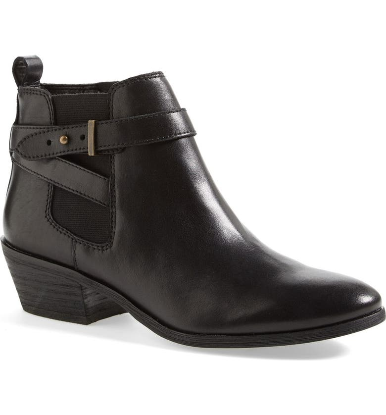 SAM EDELMAN 'Pacific' Wraparound Strap Bootie, Main, color, 002