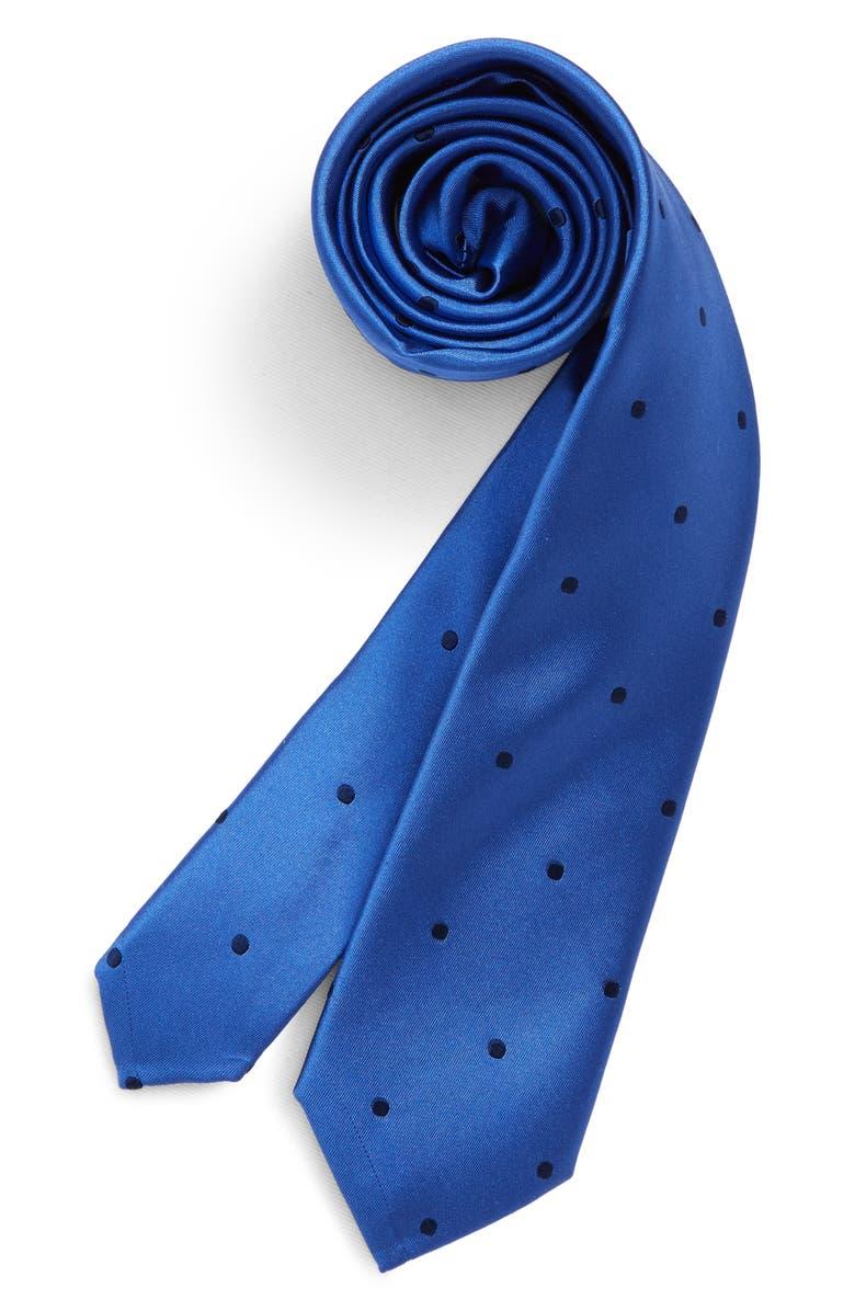 NORDSTROM Dean Dot Silk Tie, Main, color, 400