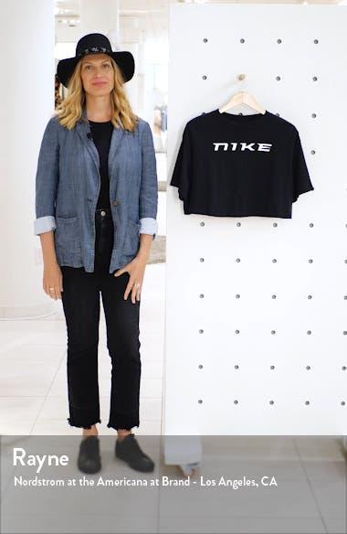 Sportswear Organic Cotton Crop Top, sales video thumbnail