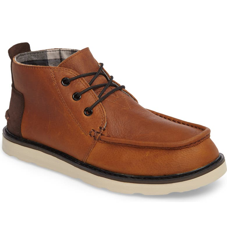 TOMS Chukka Boot, Main, color, BROWN/BROWN LEATHER