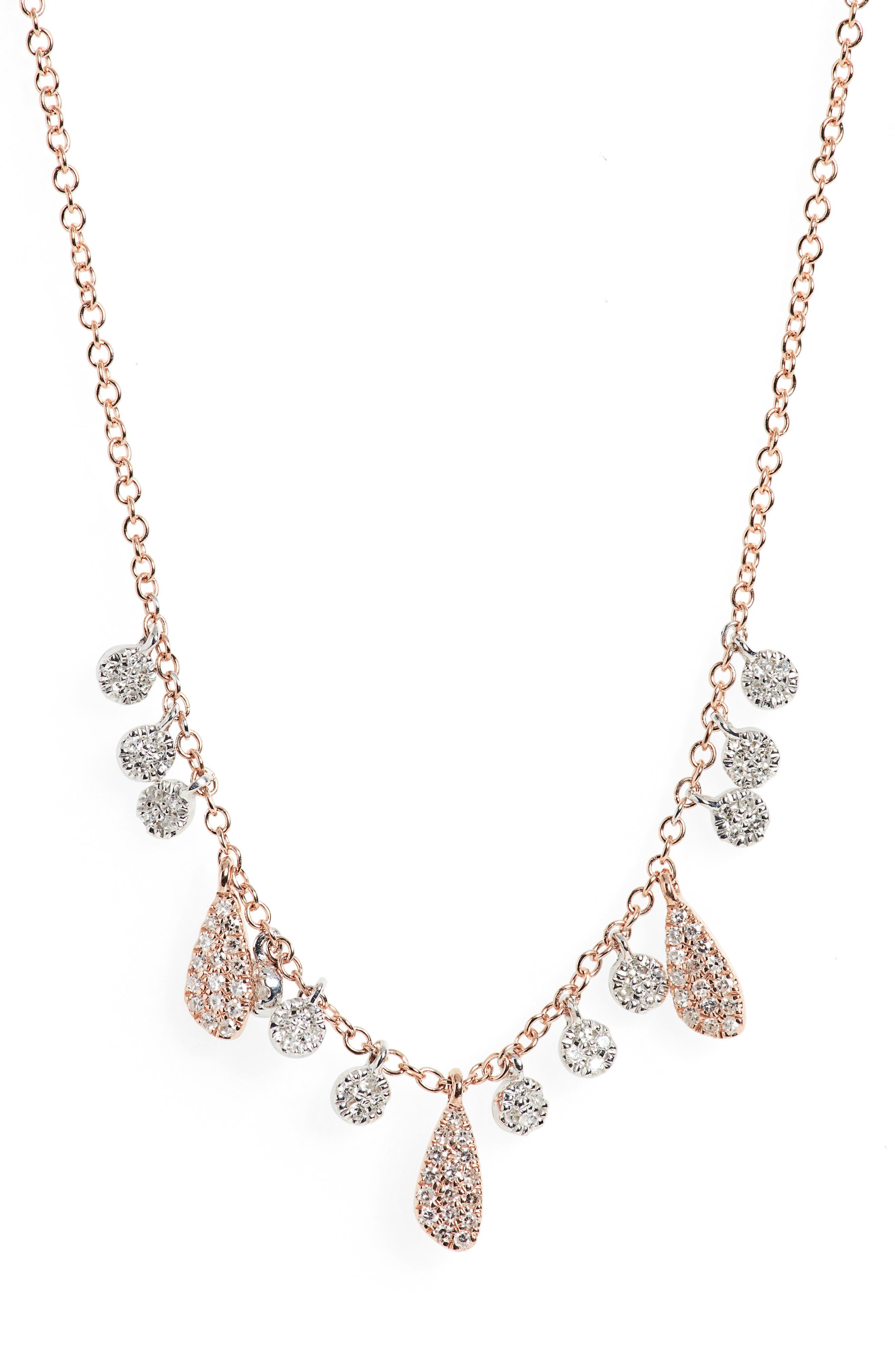 Diamond Charm Necklace
