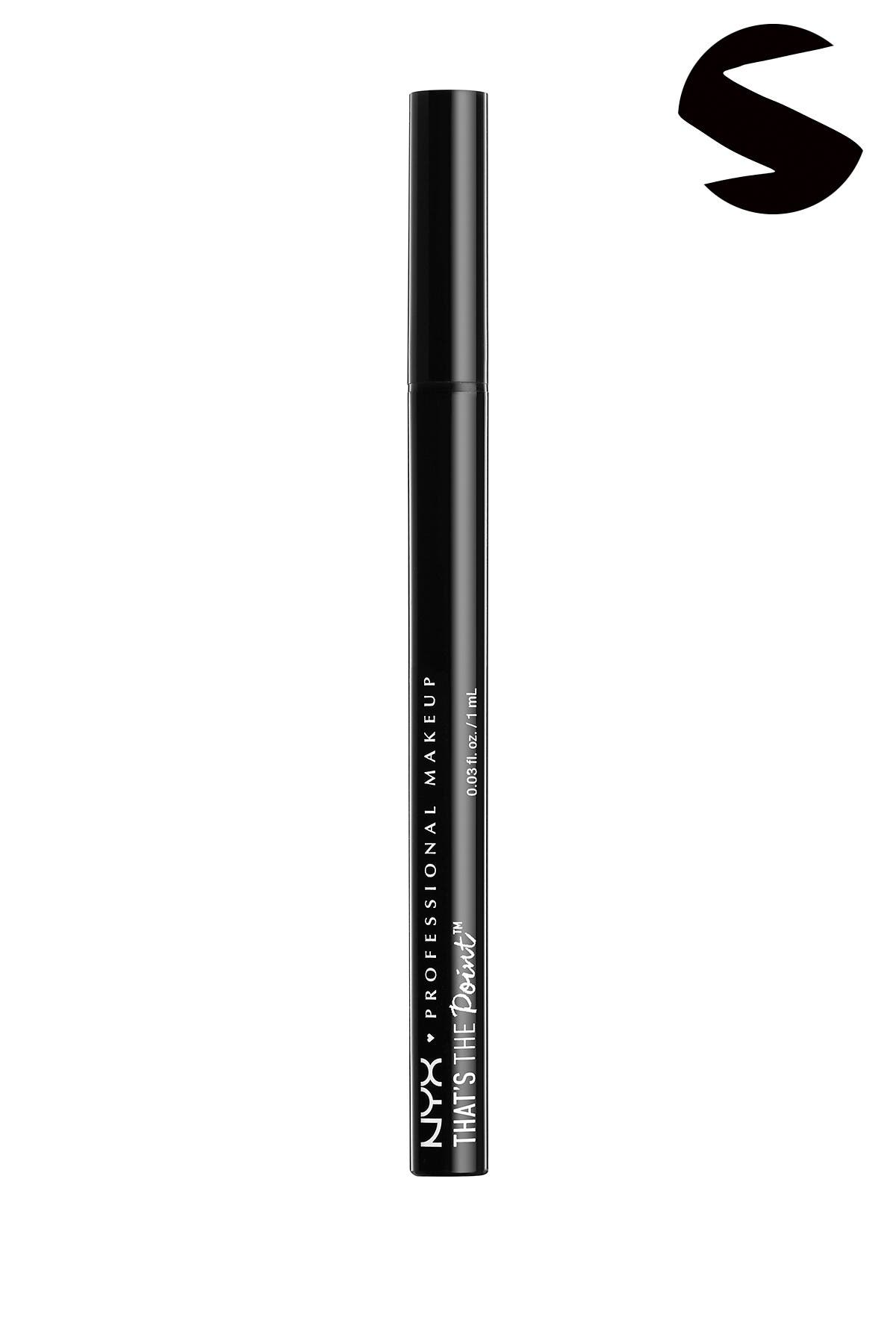 Image of NYX COSMETICS That's the Point Super Sketchy Eyeliner - Black